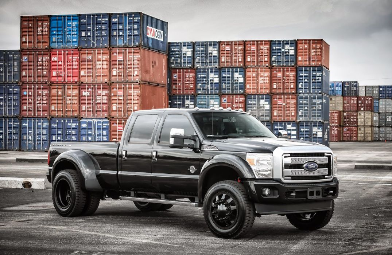 Ford F350 super Duty truck pickup cars black tuning wallpaper