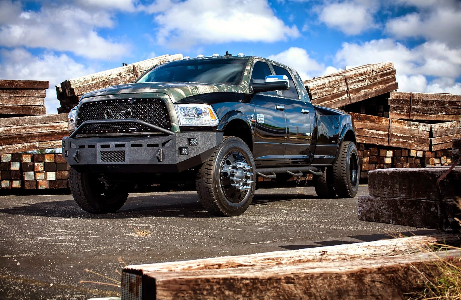 Ford F350 super Duty truck pickup cars black tuning ...