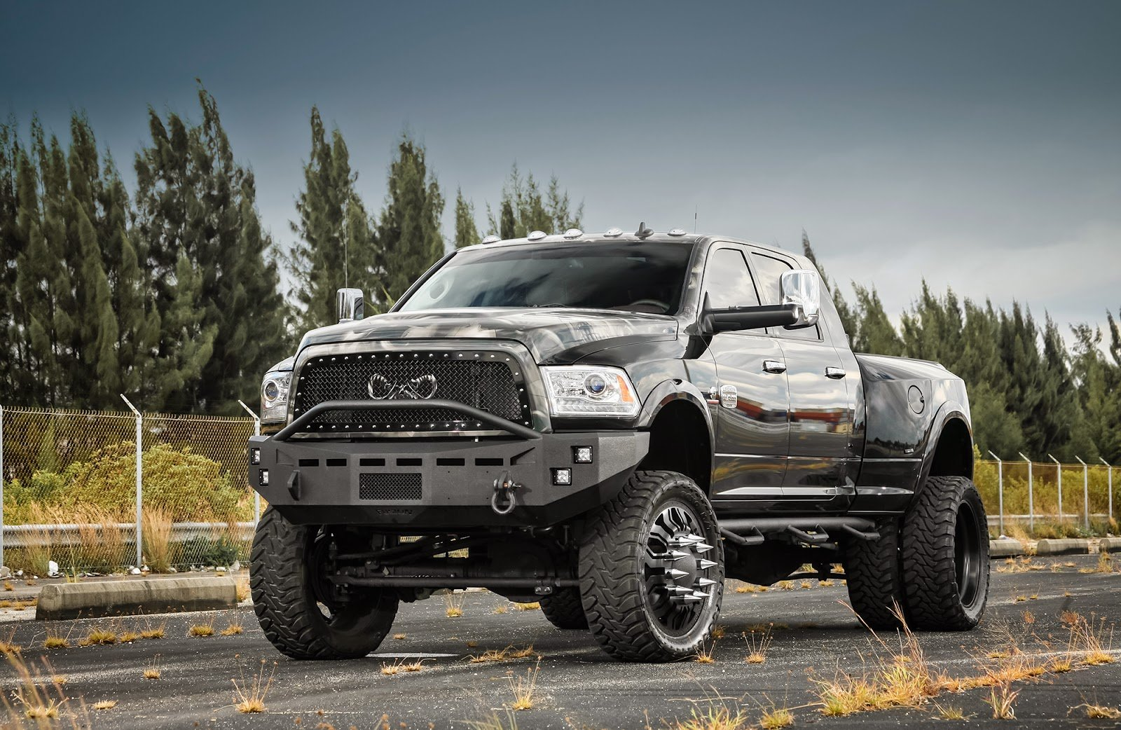 Black Cars Duty F350 Ford Pickup Super Truck Tuning