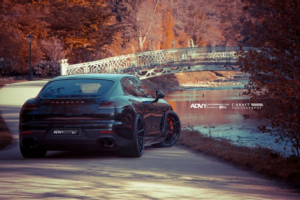 2014 ADV1 PORSCHE PANAMERA GTS supercars wheels wallpaper