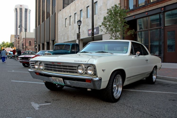 chevelle chevrolet chevy malibu cars muscle vintage usa sedan wallpaper