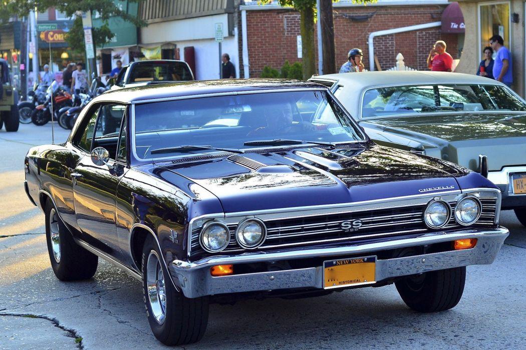 chevelle chevrolet chevy malibu cars muscle vintage usa sedan wallpaper