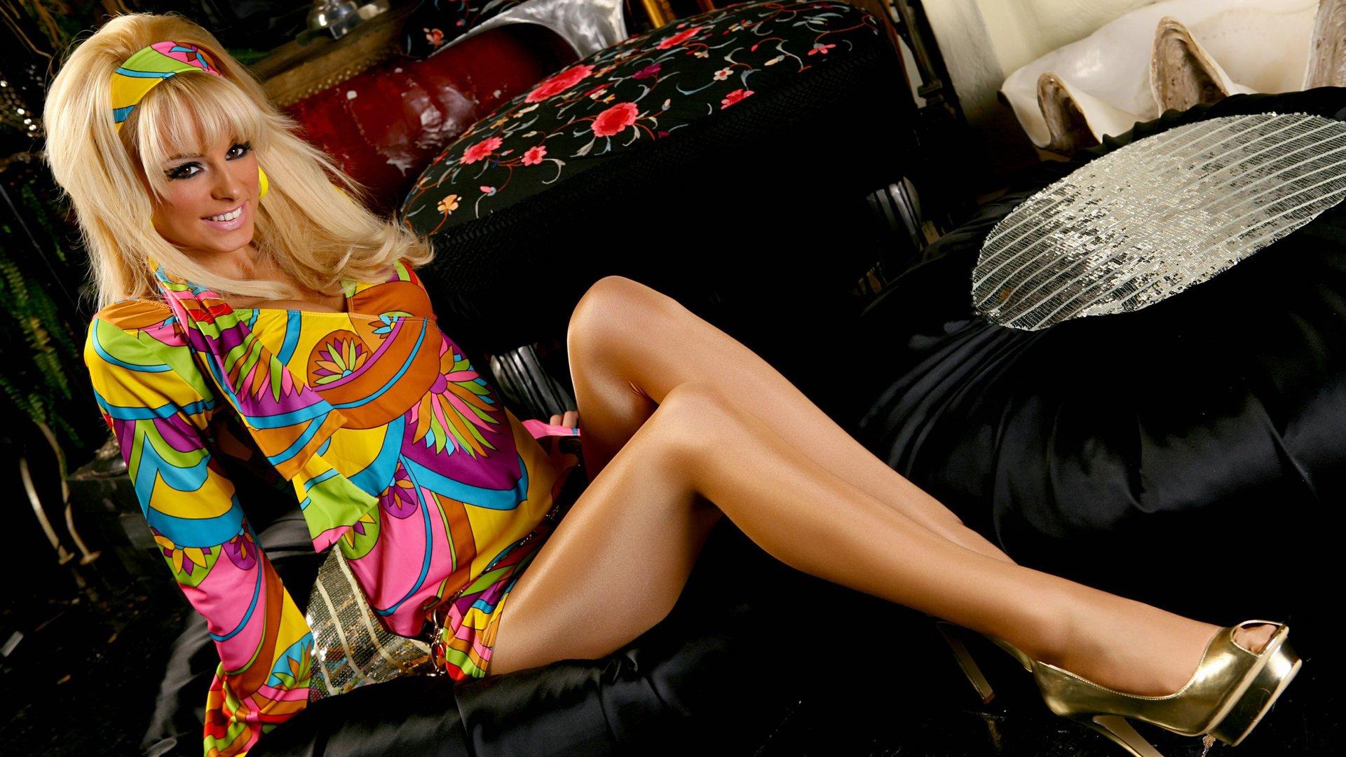 гламурная блондинка hd