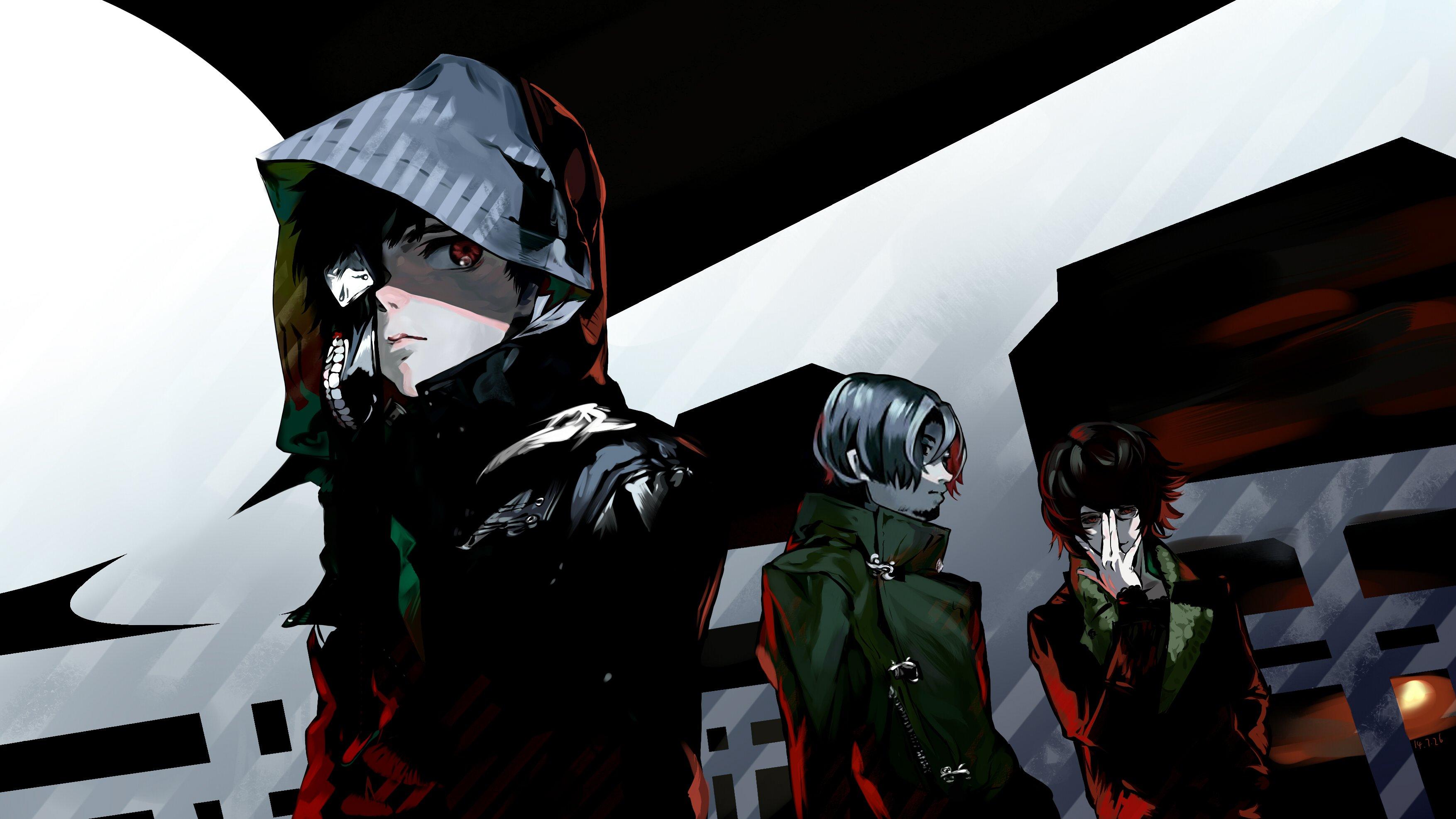 Tokyo ghoul wallpaper | 3507x1972 | 578255 | WallpaperUP