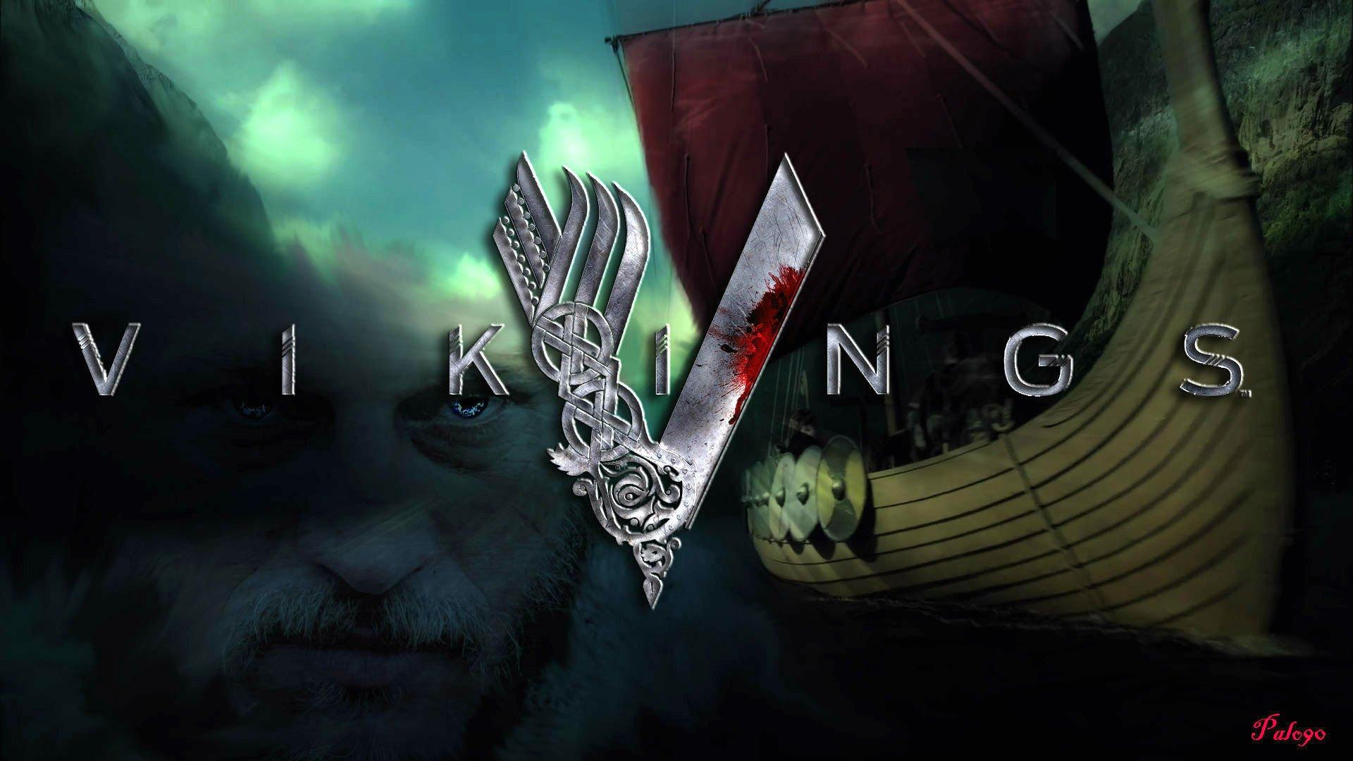 vikings tv series wallpaper