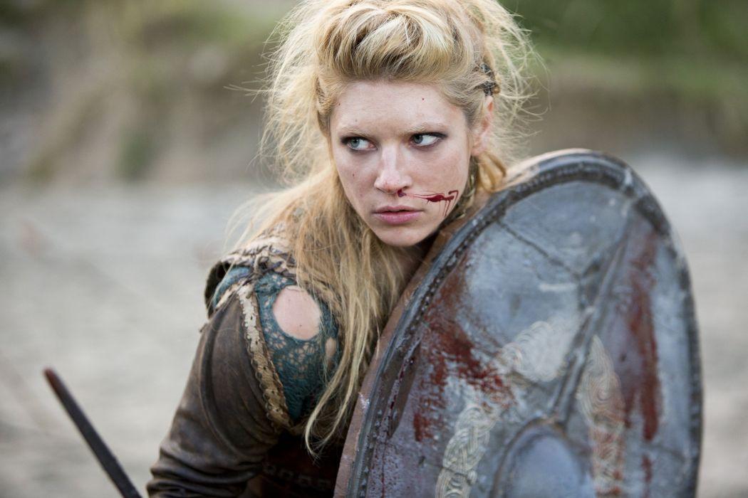 VIKINGS action drama history fantasy adventure series 1vikings viking warrior blood wallpaper
