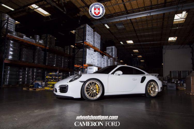 Porsche 991 Turbo S HRE wheels tuning cars wallpaper