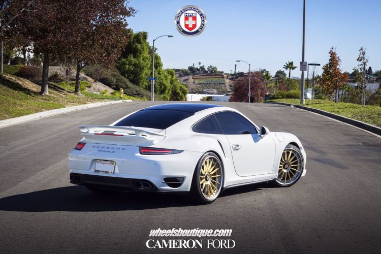 Porsche 991 Turbo S HRE wheels tuning cars wallpaper