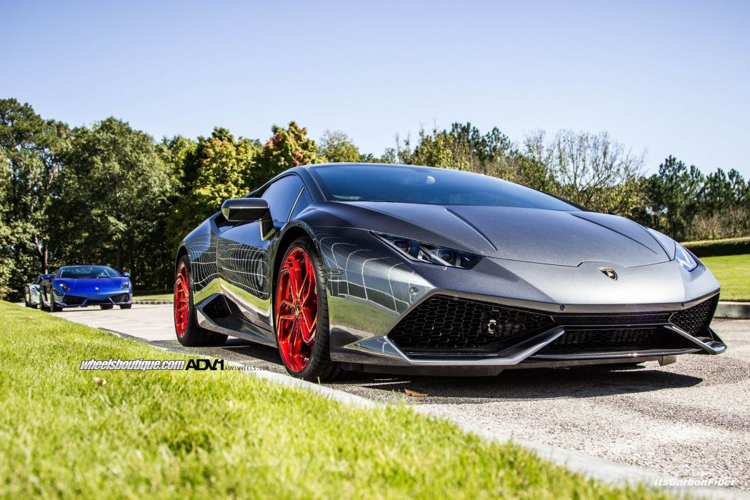 Lamborghini Huracan adv1 wheels tuning cars wallpaper