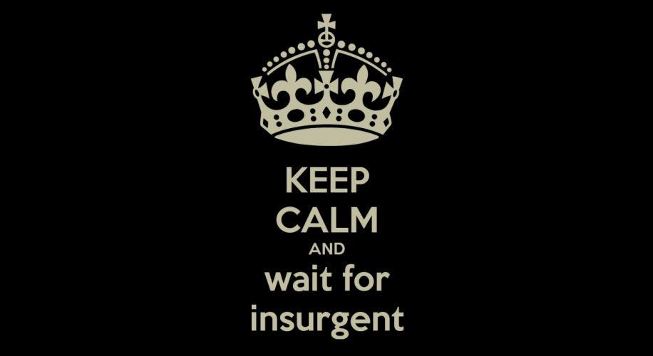 INSURGENT action adventure sci-fi fantasy series 1insurgent divergent keep calm wallpaper