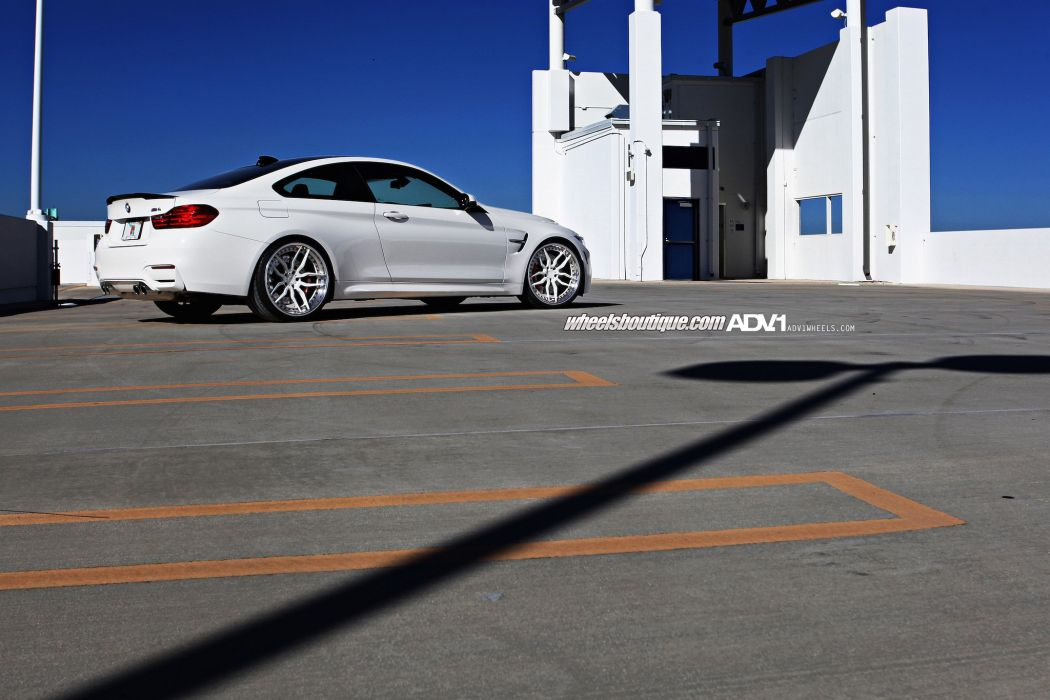 bmw m4 coupe adv1 wheels tuning cars wallpaper
