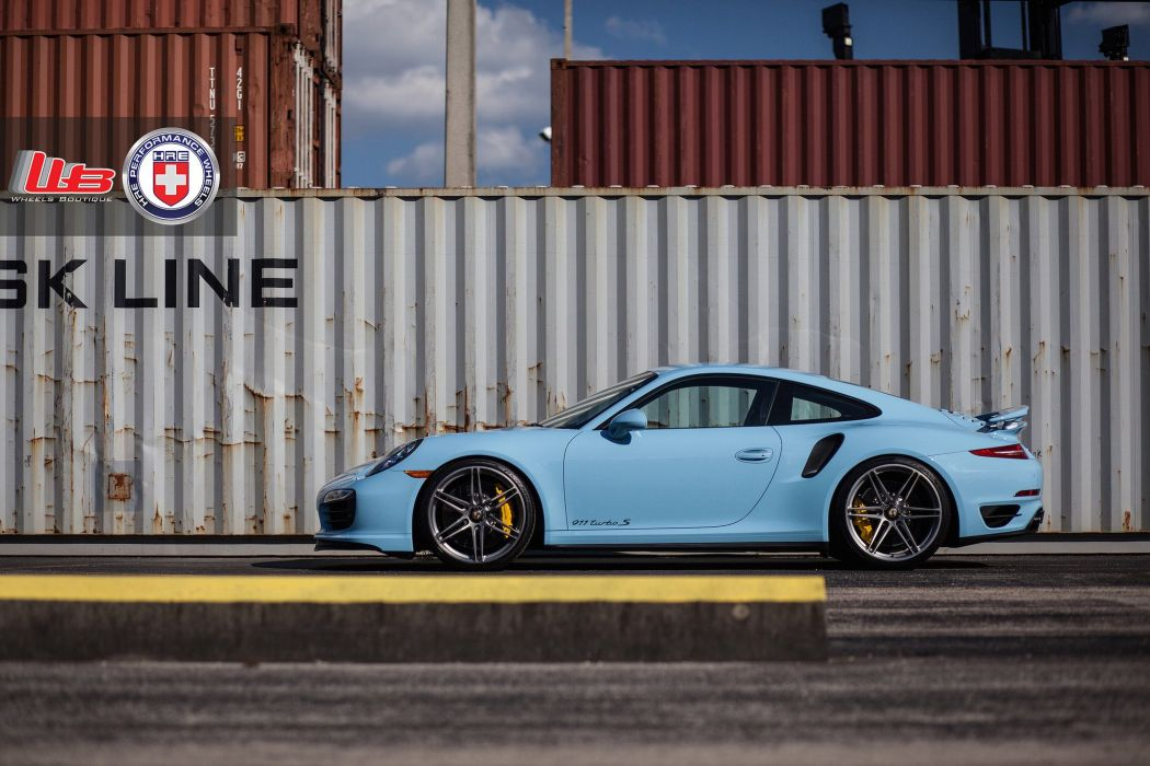 Porsche 991 Turbo S coupe hre wheels tuning cars wallpaper