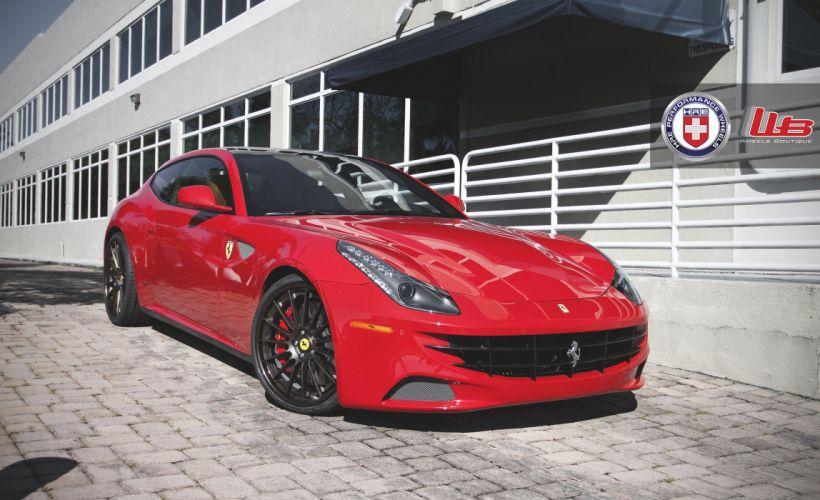 Ferrari ff 2+2 coupe hre wheels tuning cars wallpaper