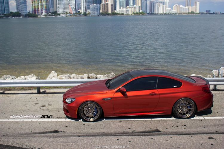 bmw m6 coupe adv1 wheels tuning cars wallpaper