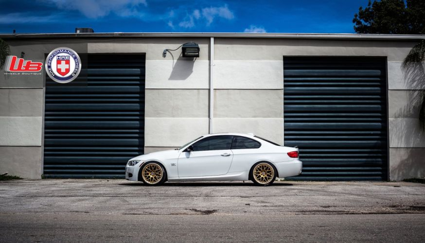 bmw 335i coupe hre wheels tuning cars wallpaper