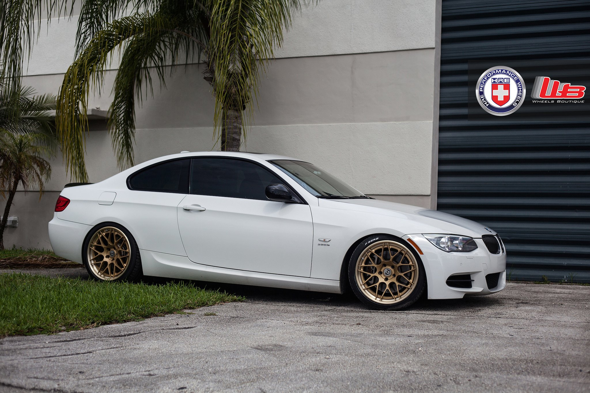 bmw 335i coupe hre wheels tuning cars wallpaper. Black Bedroom Furniture Sets. Home Design Ideas