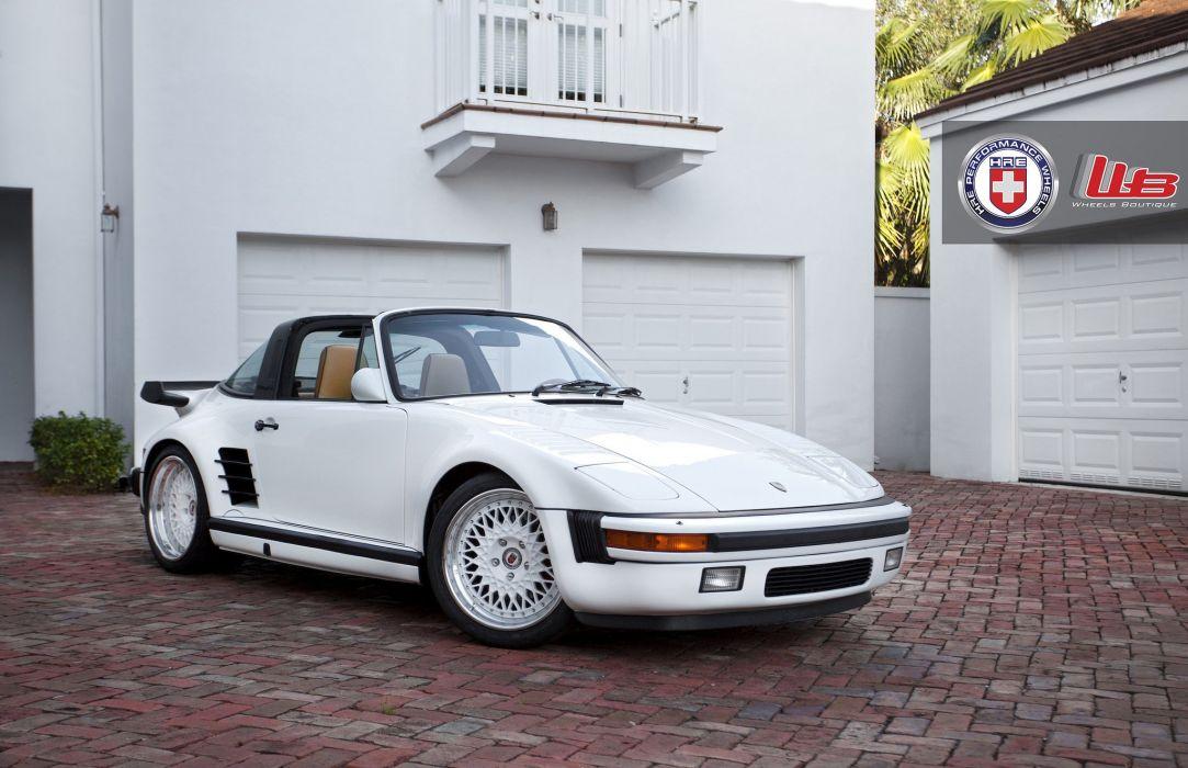 Porsche 930 Turbo Targa Coupe Hre Wheels Tuning Cars Wallpaper 2048x1324 579264 Wallpaperup