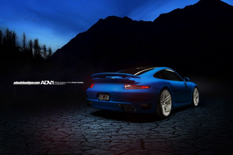 Porsche 991 Turbo S adv1 cars Tuning wheels cars wallpaper