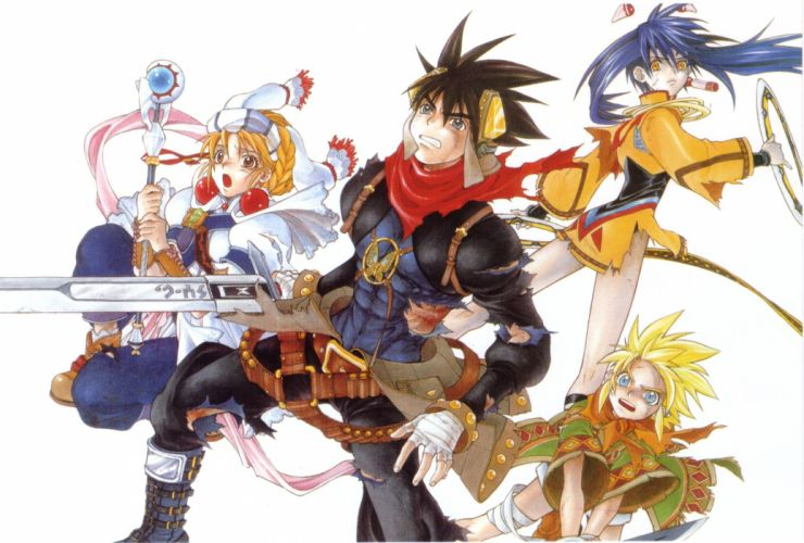 GRANDIA rpg fantasy anime adventure family mystery 1grandia wallpaper