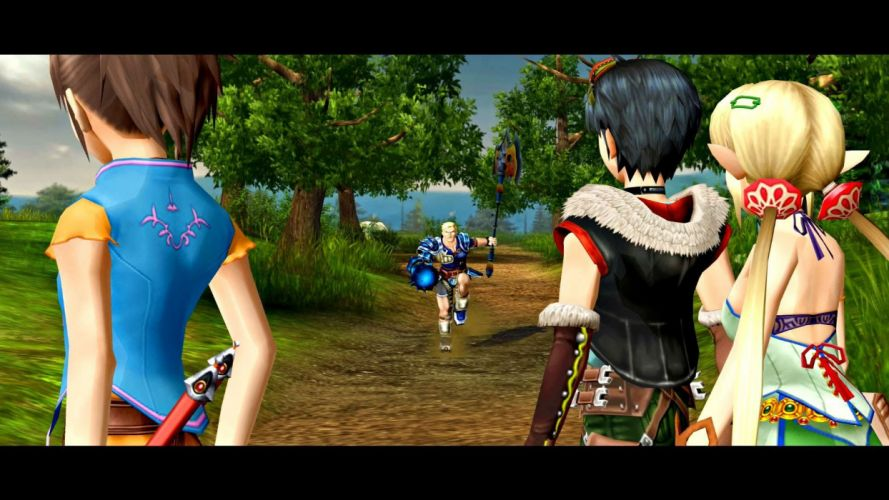 GRANDIA rpg fantasy anime adventure family mystery 1grandia wallpaper