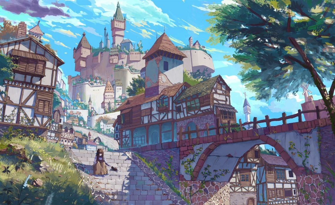 Anime Wallpaper HD wallpaper