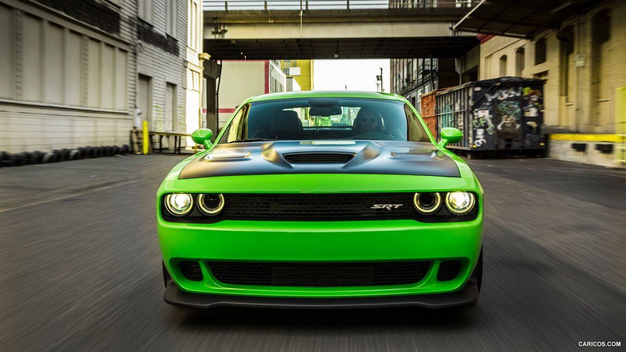 Green Hellcat wallpaper