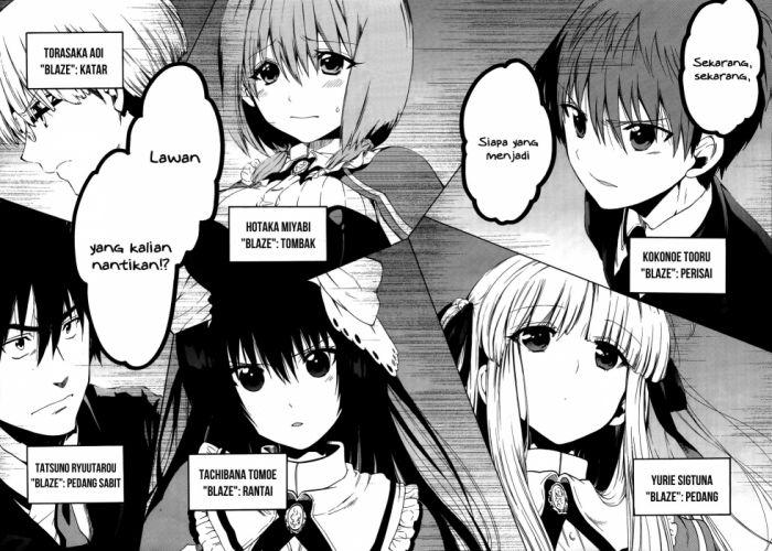 ABSOLUTE DUO manga anime romance action fantasy wallpaper