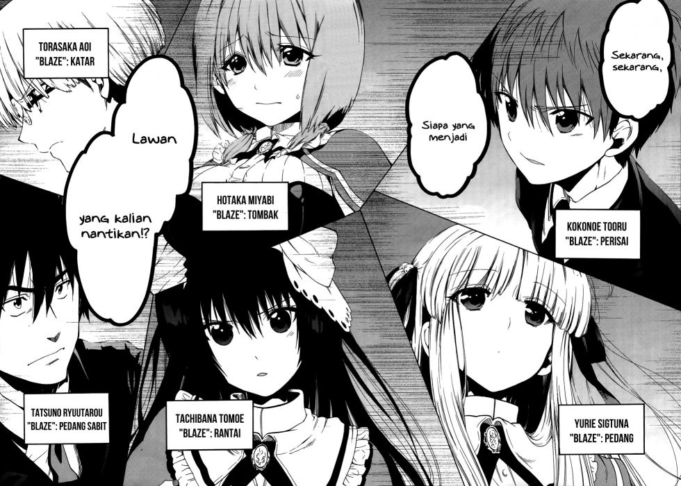 Absolute Duo Manga