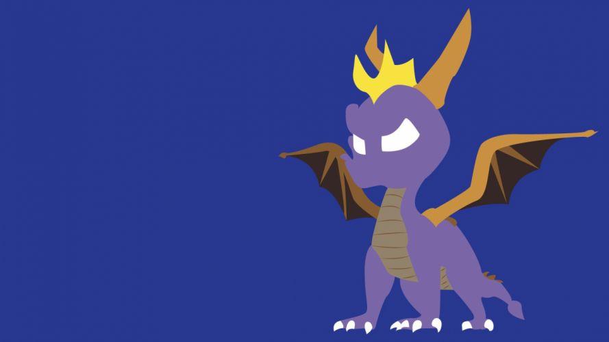 SPYRO platform action dragon adventure fantasy family wallpaper
