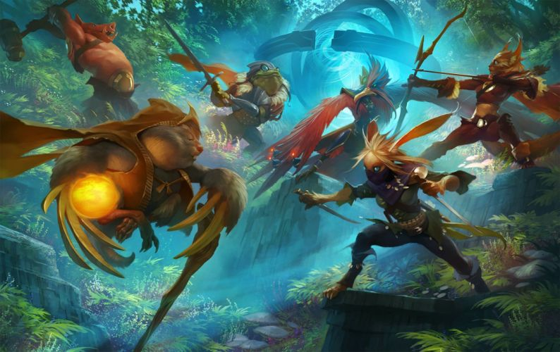 FATES FOREVER moba online mmo fantasy fighting strategy tactical 1fatesforever warrior wallpaper