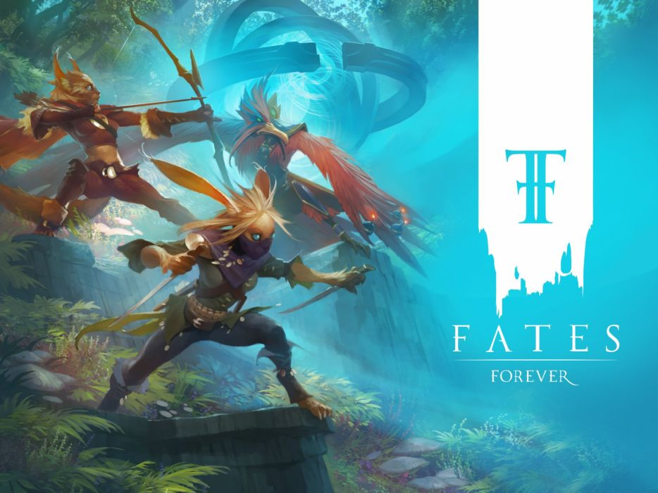 FATES FOREVER moba online mmo fantasy fighting strategy tactical 1fatesforever warrior poster wallpaper