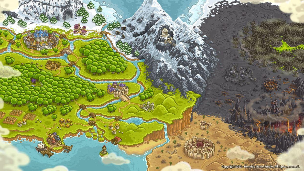 KINGDOM RUSH online strategy fantasy fighting defense 1kingdomrush wallpaper