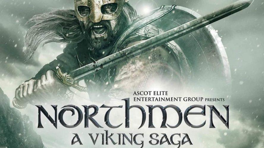 NORTHMEN VIKING SAGA fantasy action adventure history fighting 1northmen warrior poster wallpaper