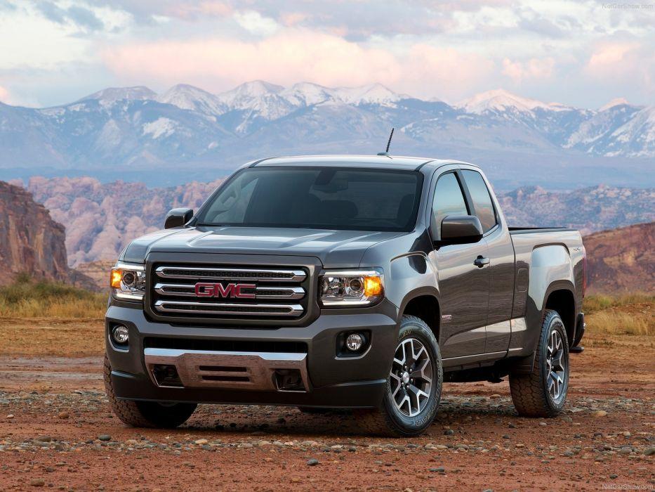 GMC Canyon truck suv cars usa wallpaper