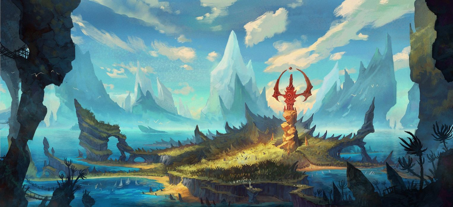 HEROES ORDER CHAOS fantasy fighting action adventure mmo online 1heroeschaos rpg wallpaper