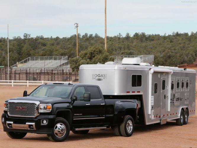 GMC Sierra HD truck suv cars usa 2015 wallpaper