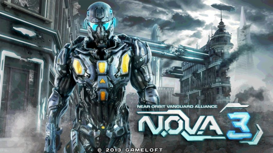 NOVA Near Orbit Vanguard Alliance sci-fi action adventure fps shooter 1nova warrior poster wallpaper