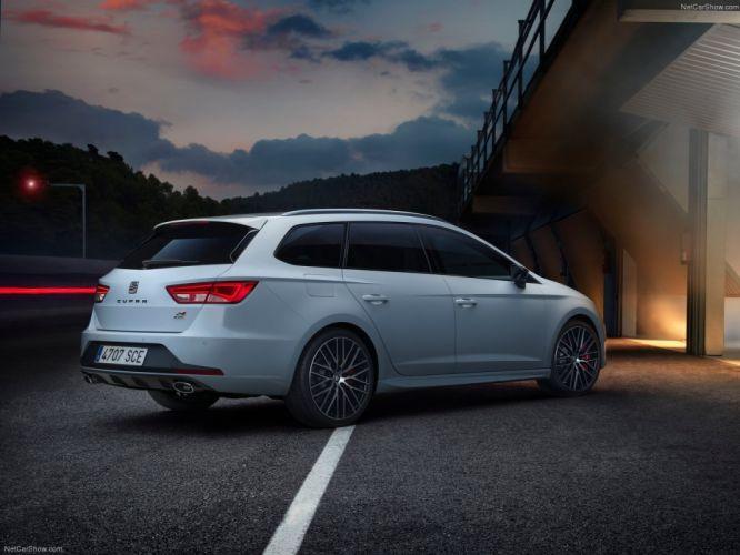 Seat Leon ST Cupra wagon 2015 cars wallpaper