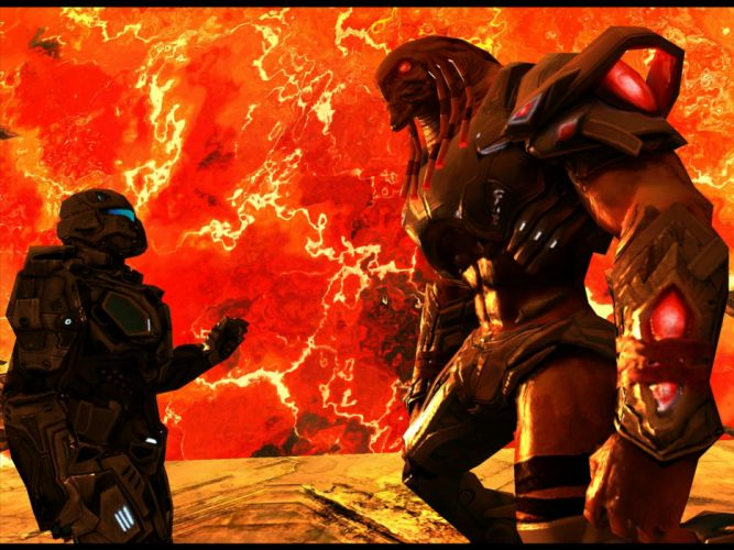 NOVA Near Orbit Vanguard Alliance sci-fi action adventure fps shooter 1nova warrior wallpaper