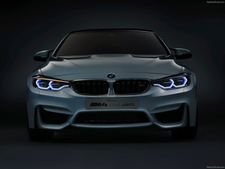 BMW M4 Iconic Lights Concept cars 2015 wallpaper