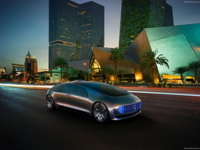 Mercedes Benz F015 Luxury in Motion Concept cars wallpaper