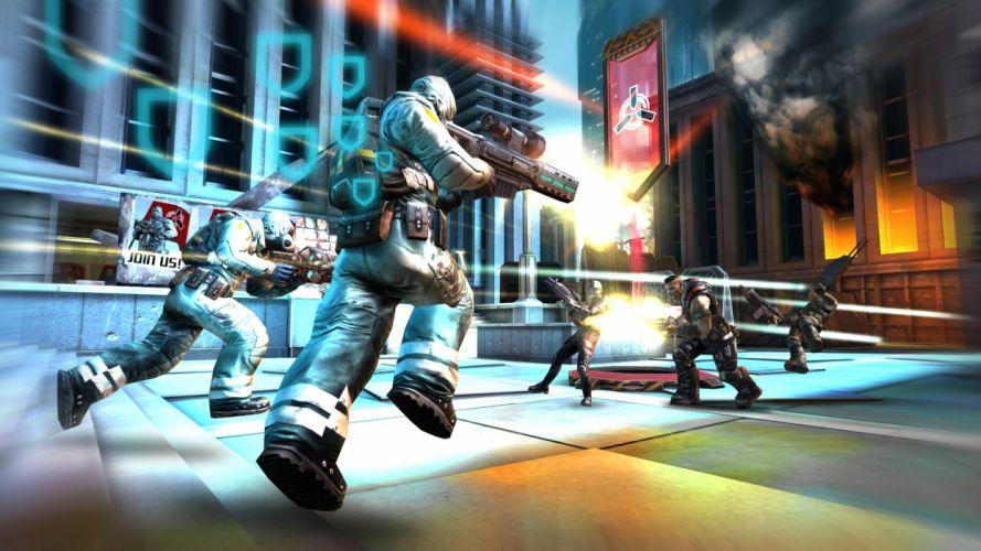 SHADOWGUN sci-fi shooter mmo tps action warrior fighting 1shadowgun warrior wallpaper