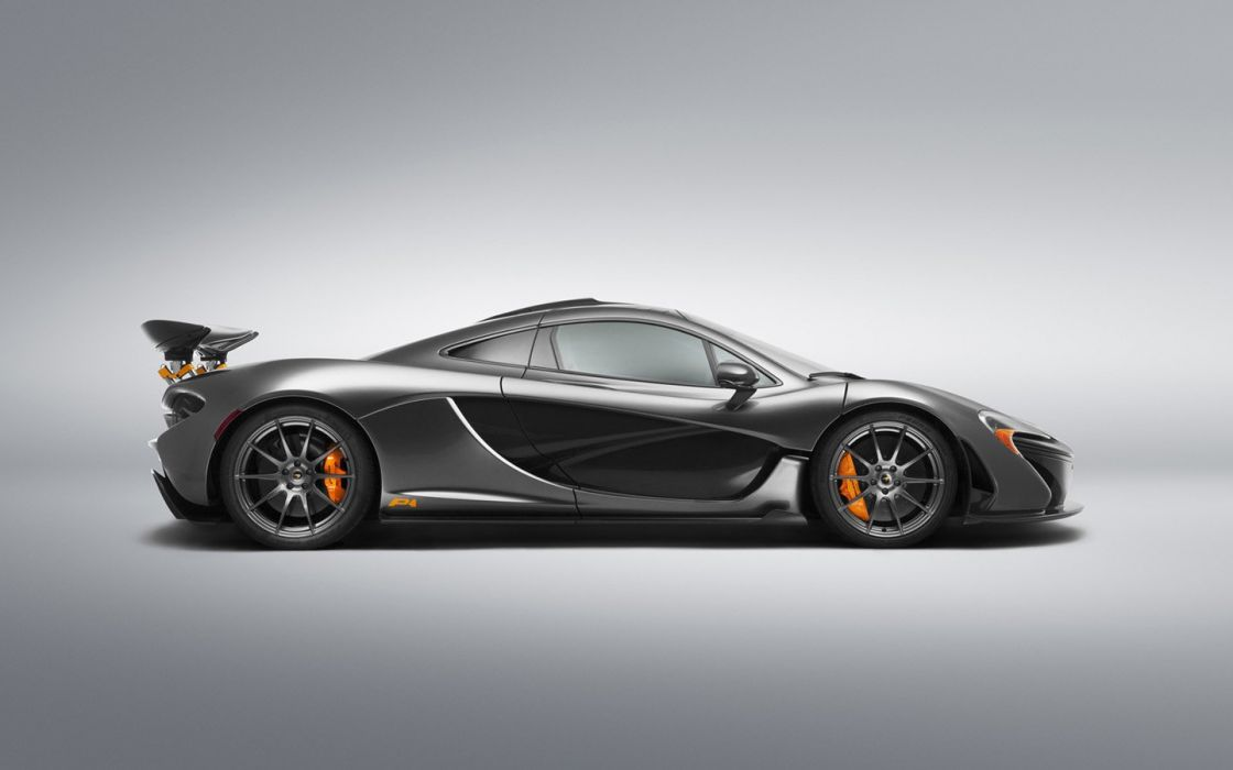 2014 McLaren P 1 Sterling Grey Bespoke supercars cars wallpaper