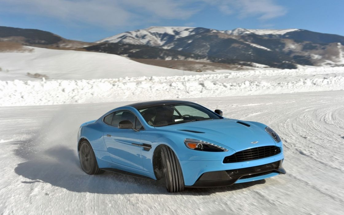 2014 Aston Martin Ice cars coupe Vanquish wallpaper