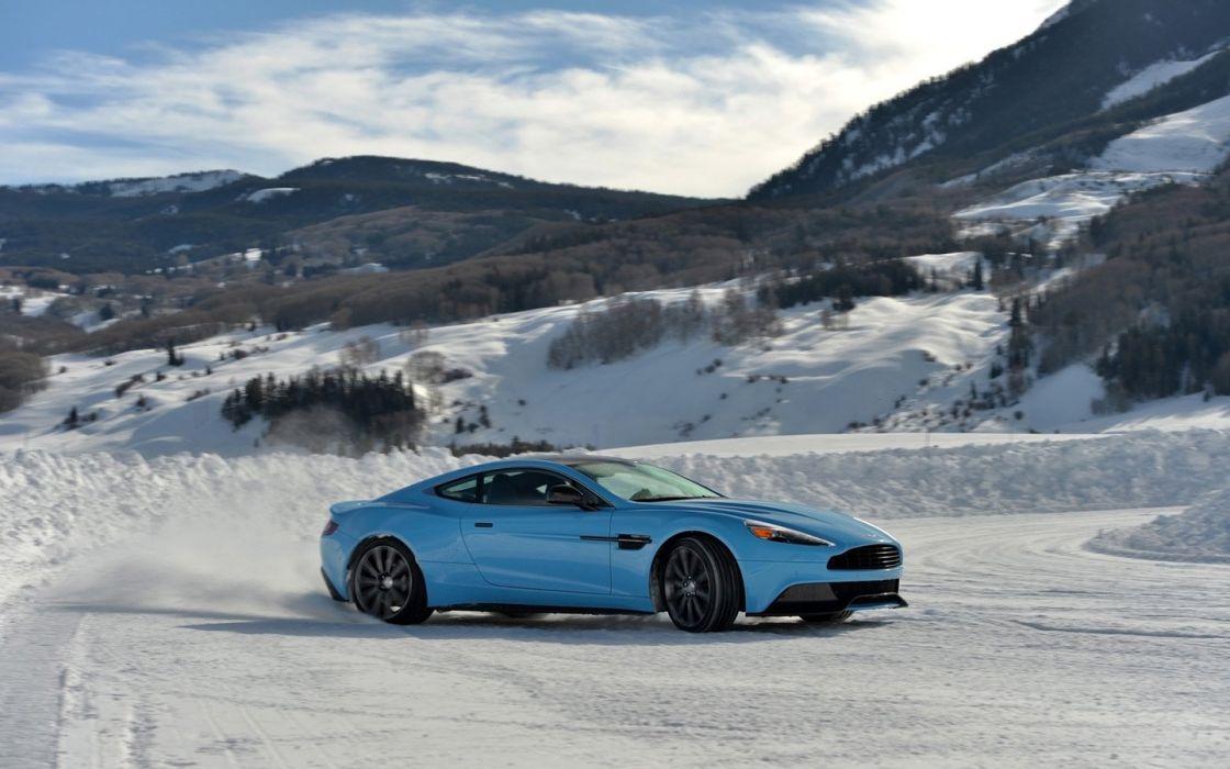 2014 Aston Martin Ice cars coupe Vanquish wallpaper