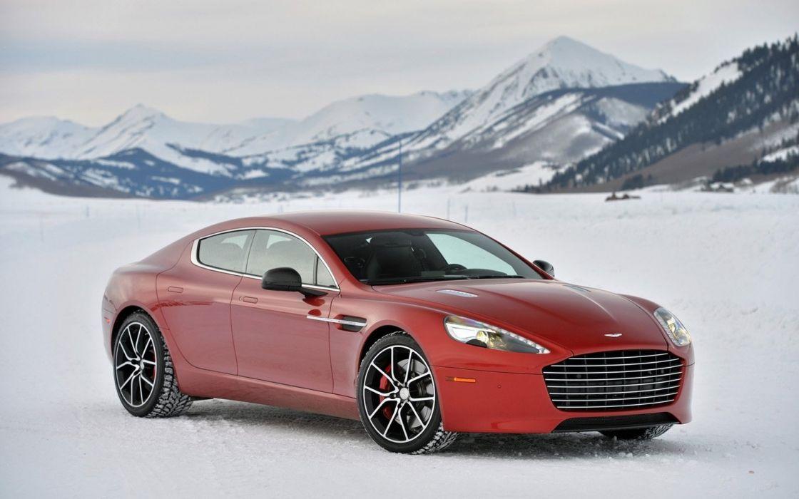 2014 Aston Martin Ice cars Rapide S wallpaper