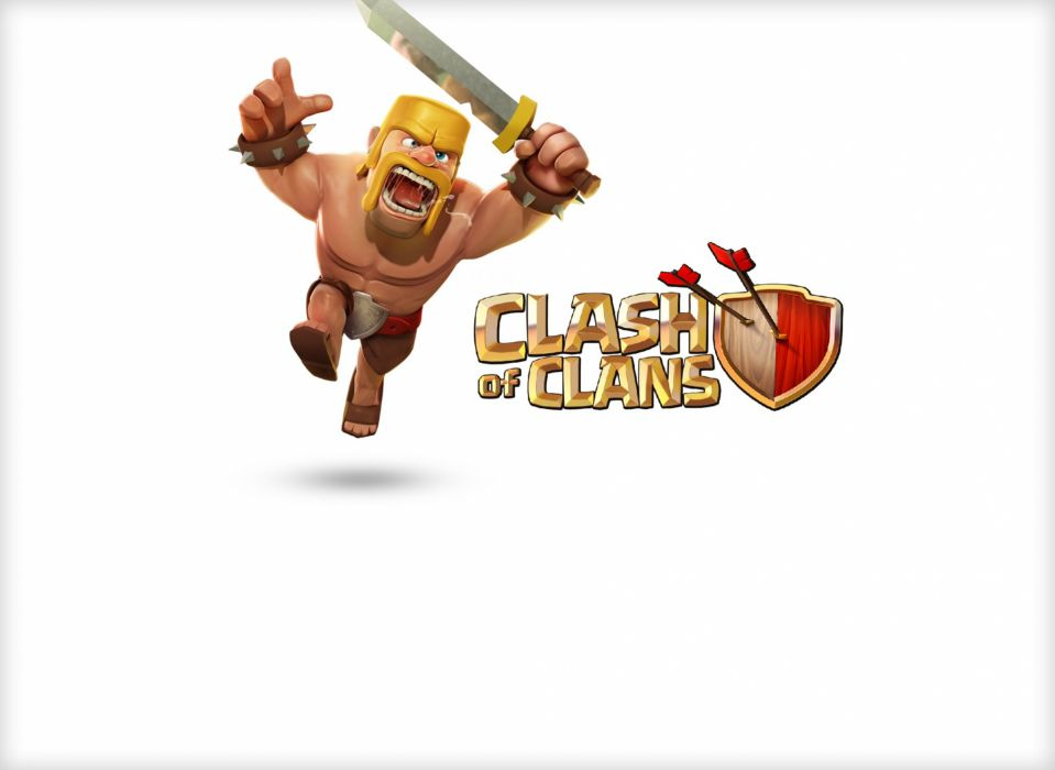 CLASH OF CLANS fantasy fighting family action adventure strategy 1clashclans warrior poster wallpaper