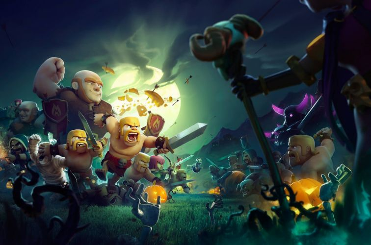 CLASH OF CLANS fantasy fighting family action adventure strategy 1clashclans wallpaper