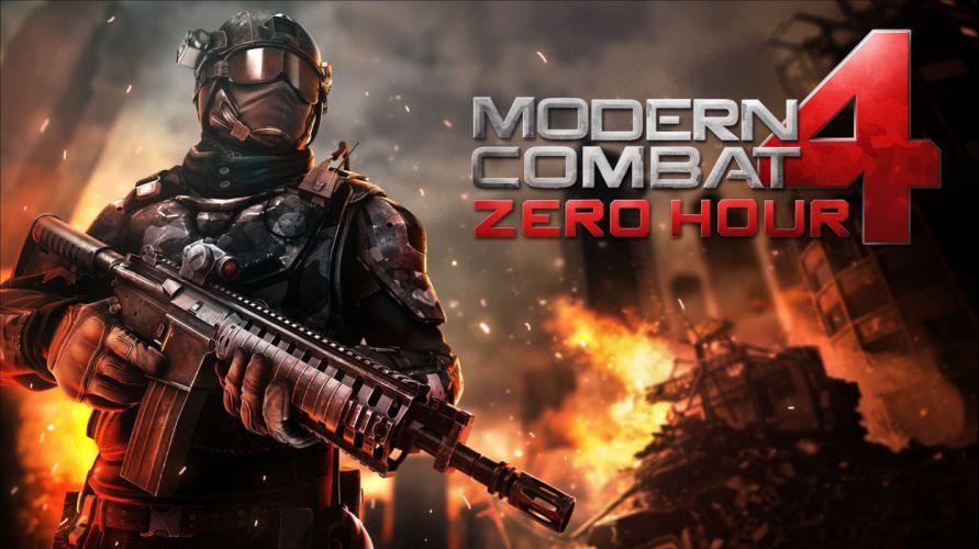 MODERN COMBAT shooter military fighting fps 1moderncombat warrior weapon gun poster war wallpaper