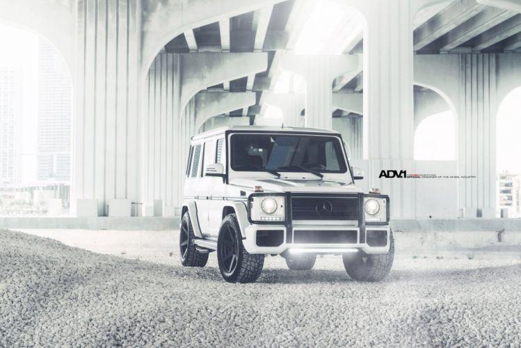 2014 ADV1 wheels MERCEDES G55 AMG cars tuning cars wallpaper